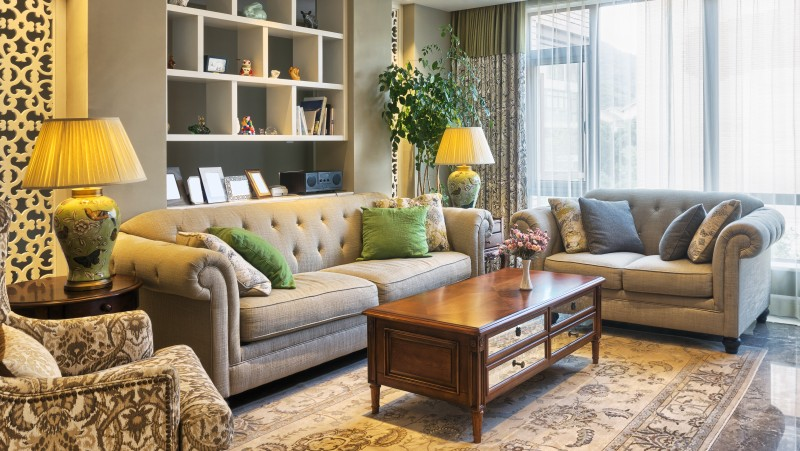 CoKo Concierge Living Room Scene